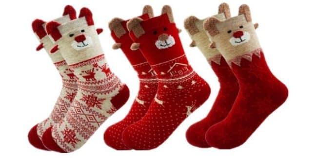 смешные-новогодние-носки