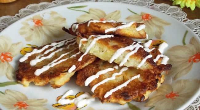 картофельные-оладьи