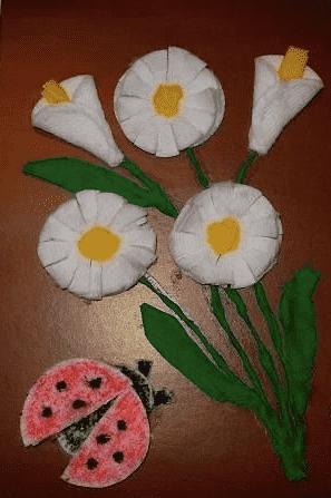 цветок из диска6
