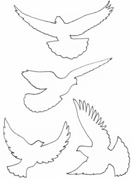4 голубя