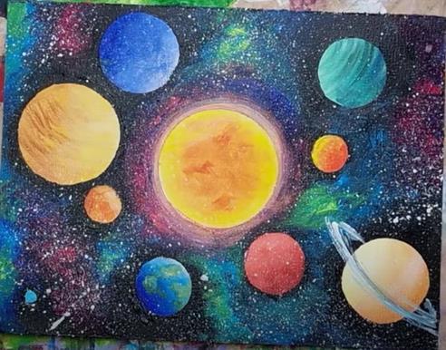добавили звезд к планетам