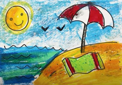 рисунок для детского сада