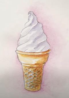 мороженое карандашом