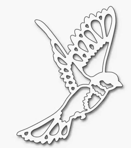 вытынанка птицы