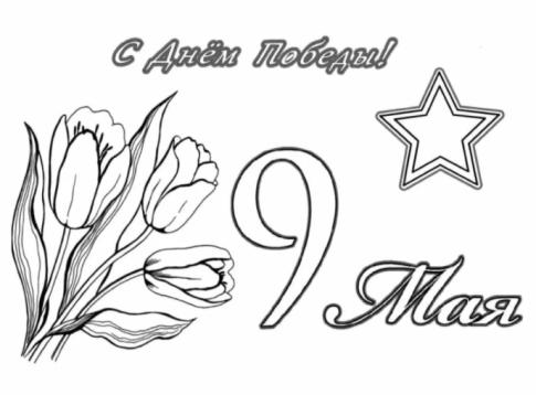 три тюльпана и звезда