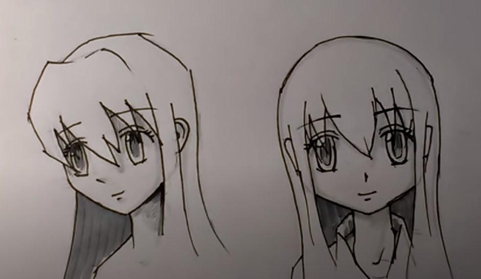 голова аниме