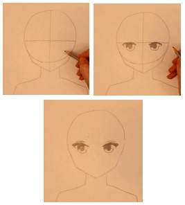 рисуем круг карандашом