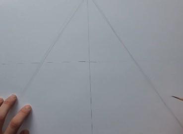 пирамида карандашом