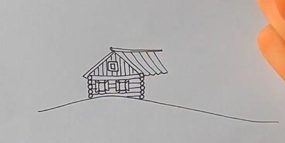 прорисовываем крышу