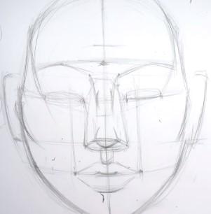 разрез глаз карандашом