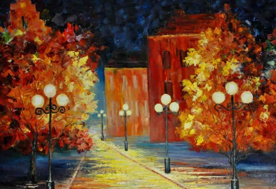улица с фонорями