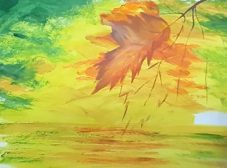вырисовываем листья