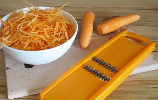 шинкуем-морковь