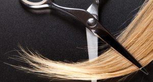 ножницы и волосы