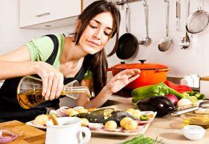 процесс приготовления еды