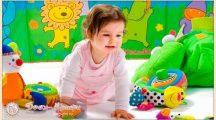 Любимые детские игрушки детей от года