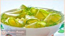 Кабачки маринованные— рецепты быстрого приготовления и мгновенного поедания