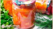 Салаты из кабачков на зиму— 6 вкусных рецептов