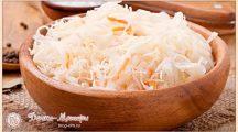 Квашеная капуста— рецепты приготовления вкусной, сочной и хрустящей капусты