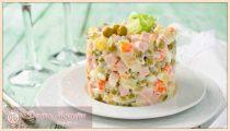 Салат Оливье – 5 классических рецептов очень вкусного салата