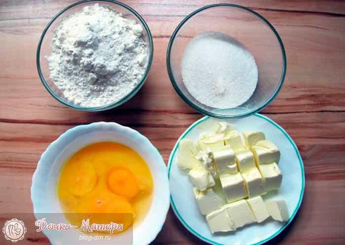 продукты-для-коржей-торт-птичье-молоко