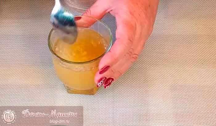 разводим-желатин