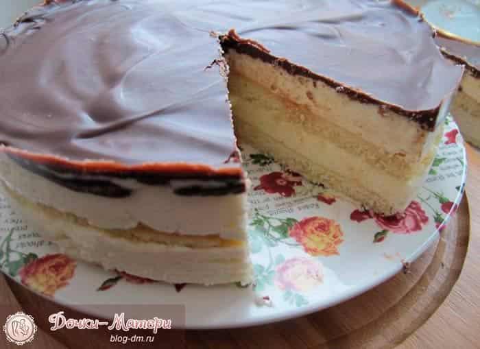торт-птичье-молоко-в-разрезе