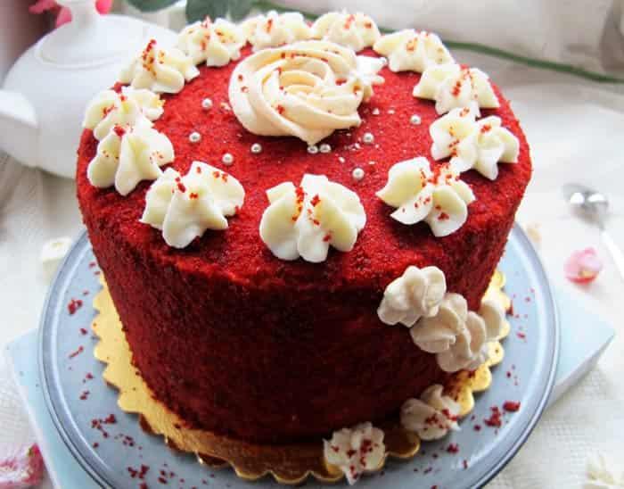 Торт-Красный-бархат