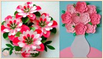 Как сделать цветок из бумаги своими руками на 8 Марта легко и просто