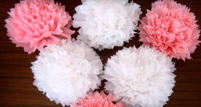 цветы-из-салфеток