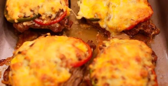 мясо-по-французски-в-духовке