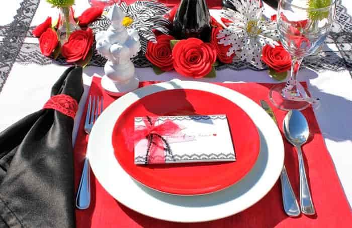 сервировка-на-романтический-ужин