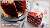 Торт Красный Бархат – 3 вкусных рецепта в домашних условиях