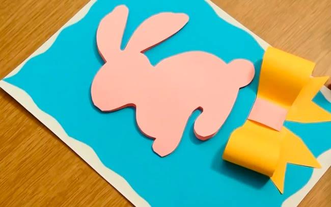 объемная-открытка-с-кроликом