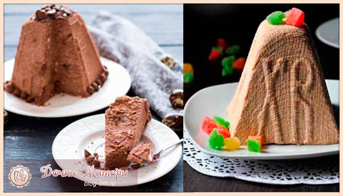 шоколадная-творожная-пасха1