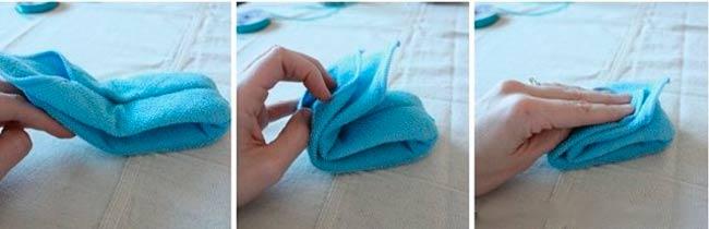 этапы-складывания-полотенца