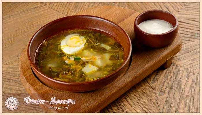 рецепт-щавелевого-супа