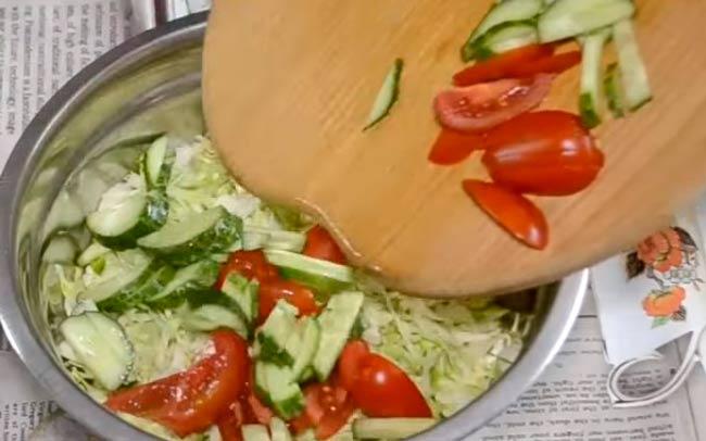 смешиваем-овощи