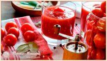 Помидоры в собственном соку на зиму — 6 рецептов «Пальчики оближешь»