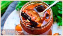 Тещин язык из баклажанов – самые вкусные рецепты на зиму