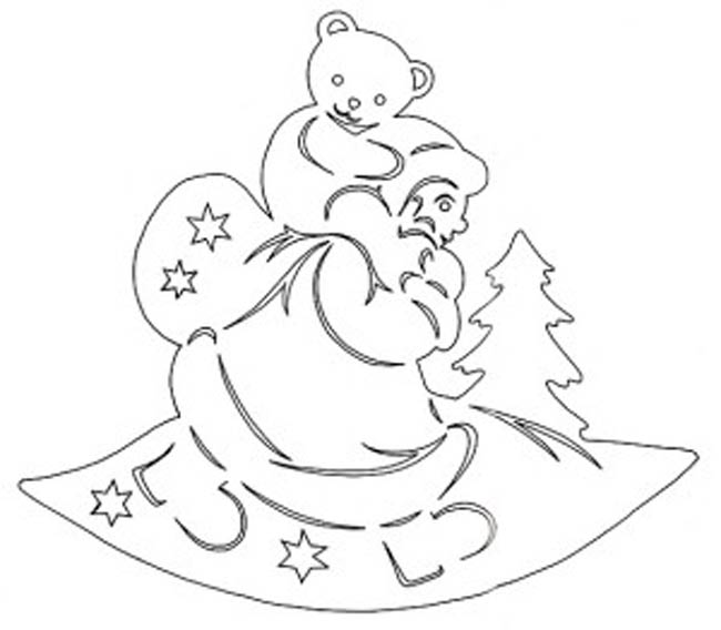 Дед-Мороз-и-мишка