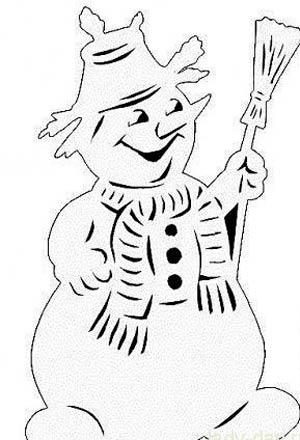 Снеговики-с-метелкой