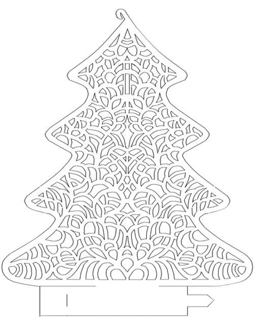 елка-с-узорами