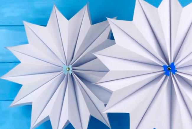 снежинка-3Д