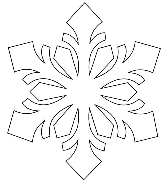 снежинка-на-окно