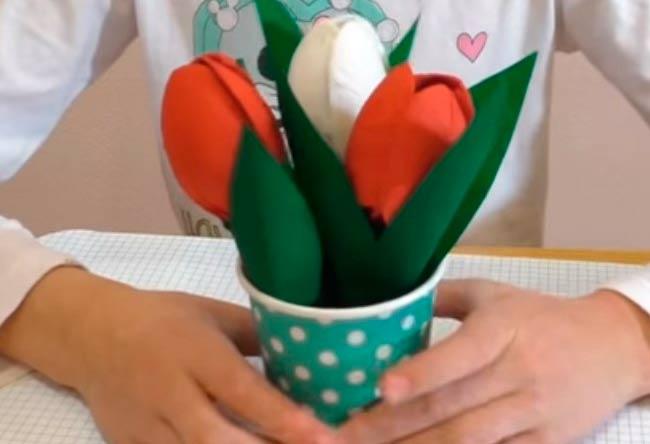 тюльпаны-из-бумаги