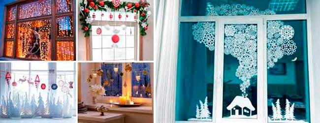 украшение-новогодних-окон