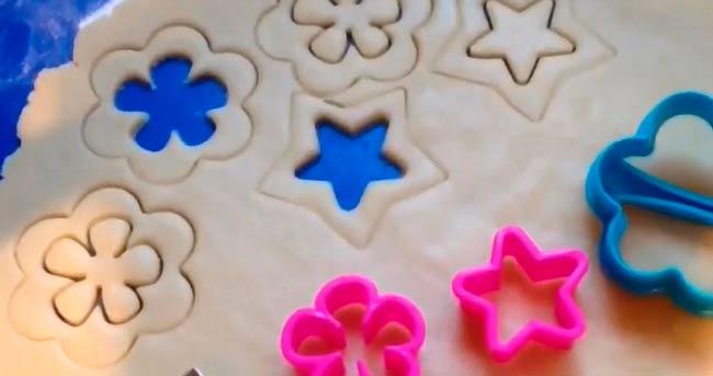 вырезаем-печенье