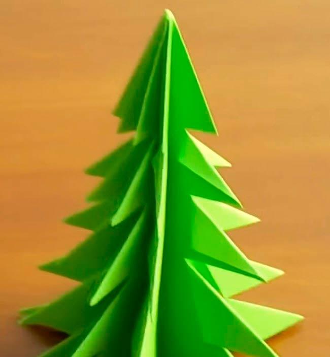 елка-из-бумаги