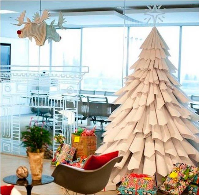 елка-из-офисной-бумаги